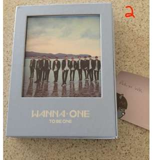WANNA ONE 1X1=1 (TO BE ONE) SKY ALBUM