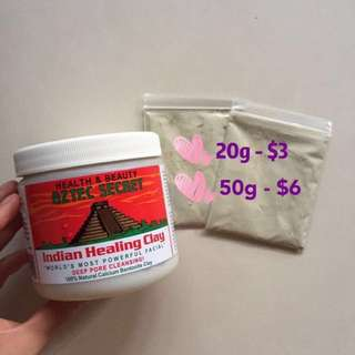 Aztec secret Indian healing Clay Mask sample