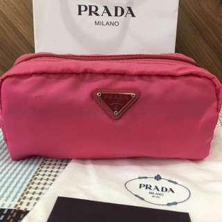 Bnew and authentic Prada pouch (small)