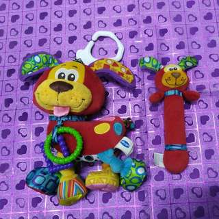 #Fesyen50 Playgro Baby Toys-pooky puppy activity friend