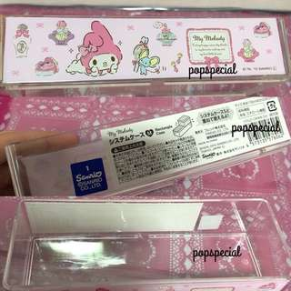 Last PCS My Melody Acrylic Rectangle Tray Case
