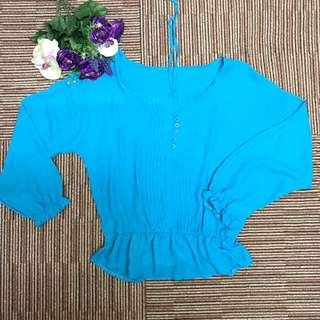 Ladies chiffon blouse