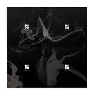 BTS防彈少年團韓壓韓文專輯💣WINGS(G)+JIN專卡