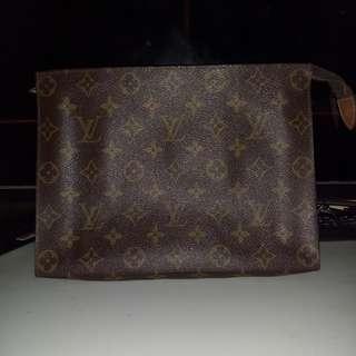 Vintage Lv monogram pouch