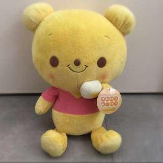 迪士尼2009年Winne the Pooh bb版好qq