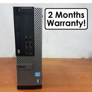 [Core I7 Gen3 CPU] Dell Optiplex 9010 SFF: 4 Core 8 Threads! USB 3.0!