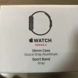 Apple watch series 3 ( 38mm ) gps+cellular