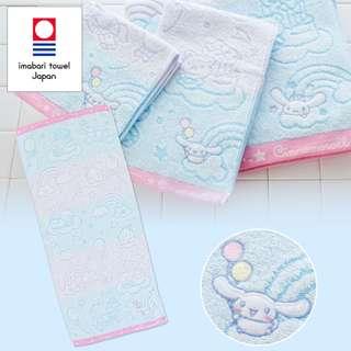 Japan Sanrio Cinnamoroll Imabari Face Towel