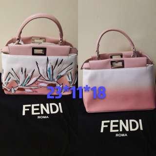全新真品Fendi Pink Bag