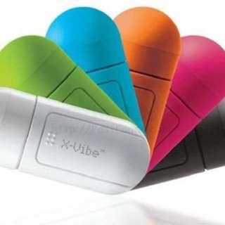 NEW X-Vibe Mini portable Resonance Speaker Vibration Speaker For MP3 Cellphone Everything Smarter than Bluetooth Speaker AcidBlue Portable X-Vibe Magic Sound Box For iphone 6S Plus samsung S7 Xiaomi Q-Price