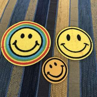 Iron On Patches 3 pcs Smiley Edition Patch Iron On