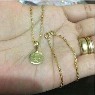 18k gold jewelry 1.58g