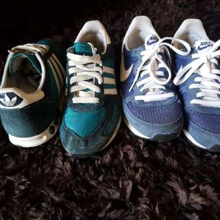 Buy 1 take 1 adidas and nike shoes