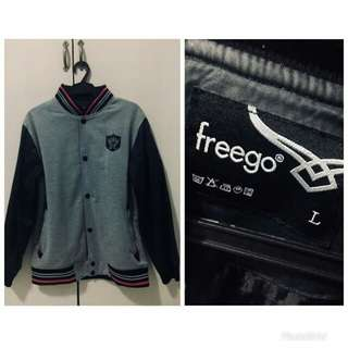 Freego Jacket grey black MEN (unisex)