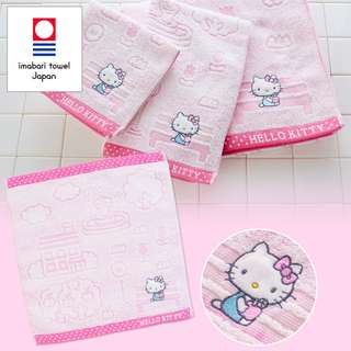 Japan Sanrio Hello Kitty Imabari Hand Towel