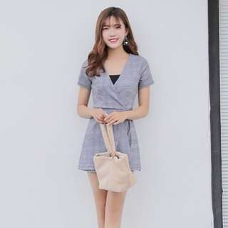 Yuan Checked Jumpsuit