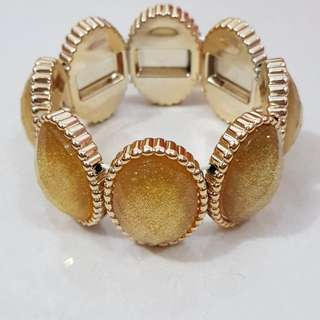 SELLING FAST!! Grey and Gold Bangle!