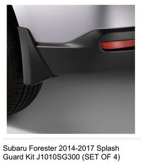 Authentic OEM Splash / Mud Guard for Subaru Forester