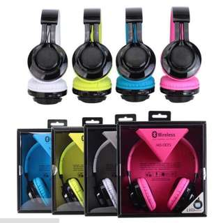 Wireless Wired TF Card LED Marquee Radio Functions Headphones AB005