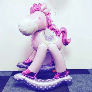 Trojan horse balloon 130cm unicorn