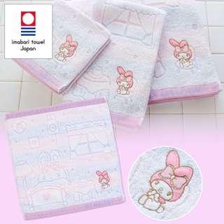 Japan Sanrio My Melody Imabari Hand Towel