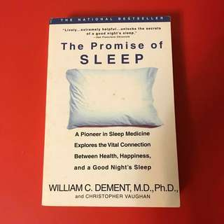 THE PROMISE OF SLEEP - RELAX INSOMNIA DREAM REST MEDICINE