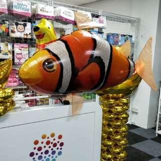Helium giant nemo fish