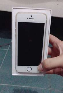 SUPER RUSH SALE IPHONE 5S GLOBELOCKED 16 GB COMPLETE