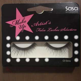 Instock sasa BN Fake Eyelashes / falsies / false lashes