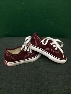 Maroon Vans for kids