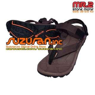 Suzuran Sandal Gunung Extreme X (MR2) Brown (size 39 s/d 43)