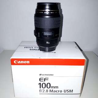 Canon efs 100mm f2.8