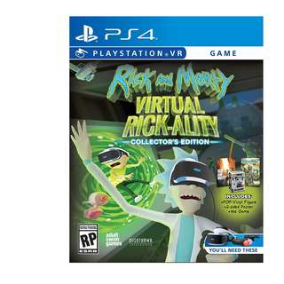 Rick & Morty Virtual Rick-Ality Collector's Edition