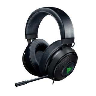 Razer Kraken 7.1 V2 Chroma USB Gaming Headset - Oval Ear Cushions - Gunmetal
