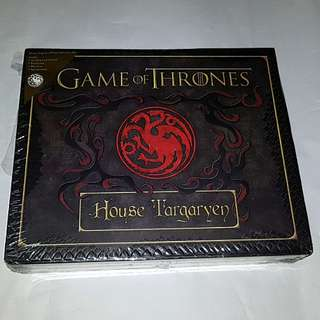 GAME OF THRONES HOUSE OF TARGARYEN STATIONERY BOX SET