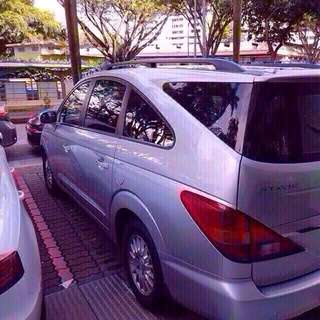 Stavic 9 seater Rental large MPV