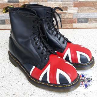 Dr Martens 1460 Union Jack 10uk MIE Like new