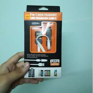 USB 2 IN 1 for Android and iPhone