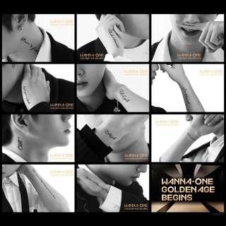 WANNA ONE ALBUM - GOLDEN AGE BEGINS | PREORDER