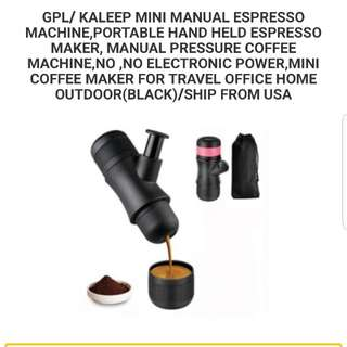 Mini Manual espresso maker