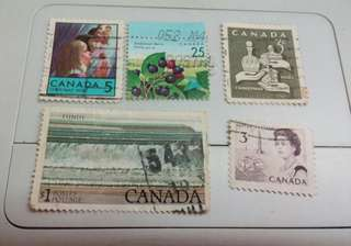 Canada Stamps #M58