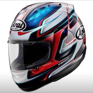 Arai Full Face Helmet Pedrosa GP