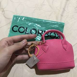 colorbox 2in1 pouch keychain