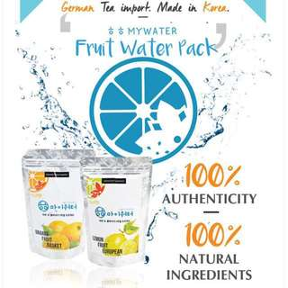 Waseyo Mywater Detox Fruit Water Tea