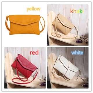 [PO59]PU Leather Women Messenger Bag Small Diagonal All Match Single Shoulder Bag