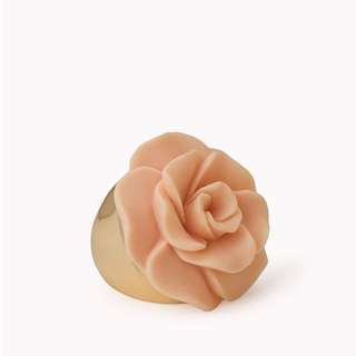 Forever21 Cocktail Hour Rose Ring - Peach