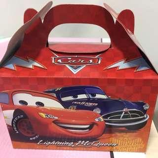BNIP Lightning Mcqueen Cars 3 Goodie Box