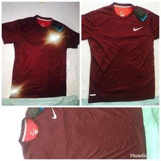 Nike maroon red Dri Fit