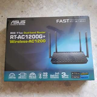 BNIB *AUTHENTIC* ASUS RT-AC1200G+