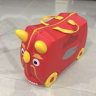 Trunki Luggage Red Dragon Mint Condition